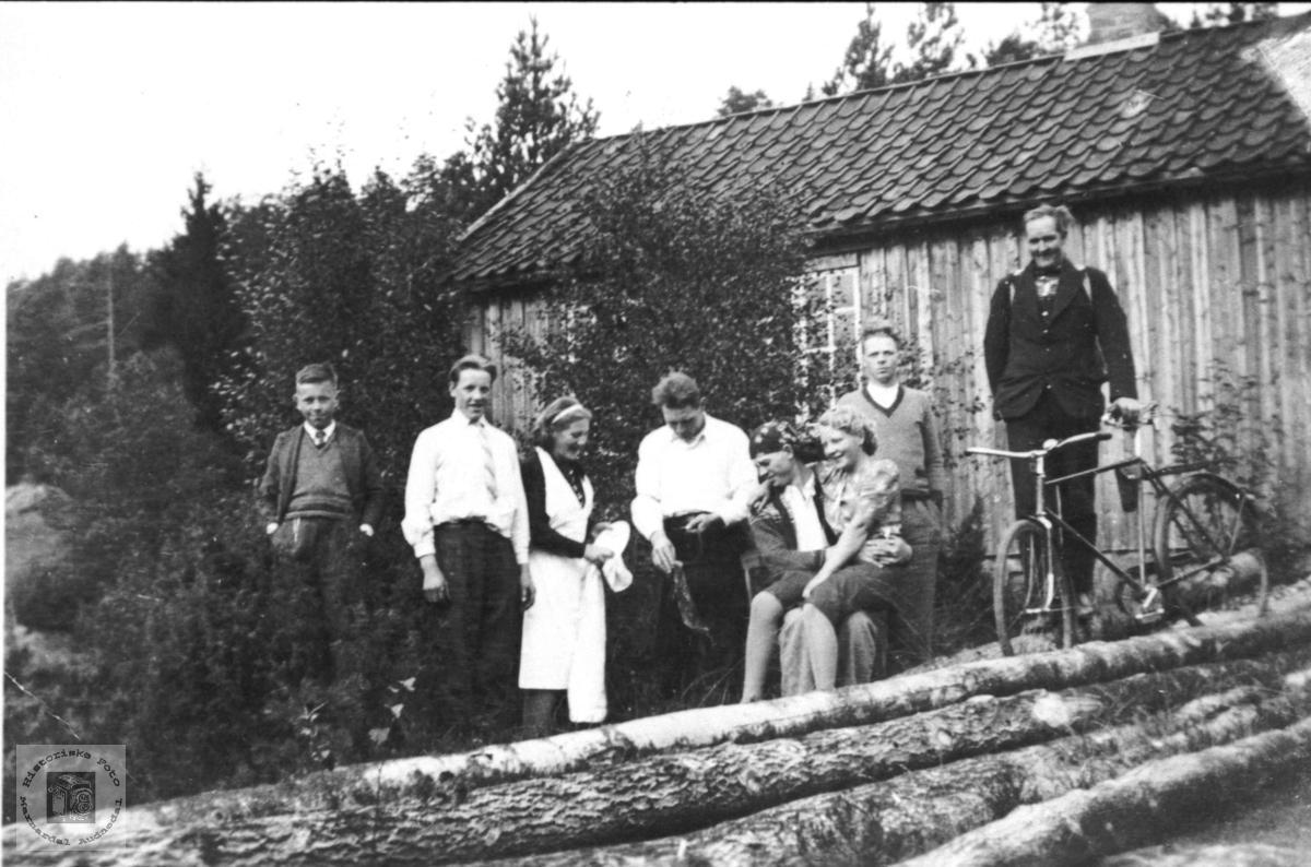 Søndagstur til Trælkilen (Olav Uslands hytte)