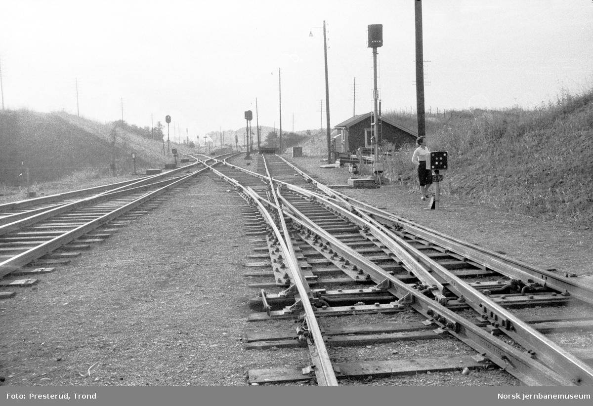 Spor på Leangen stasjon