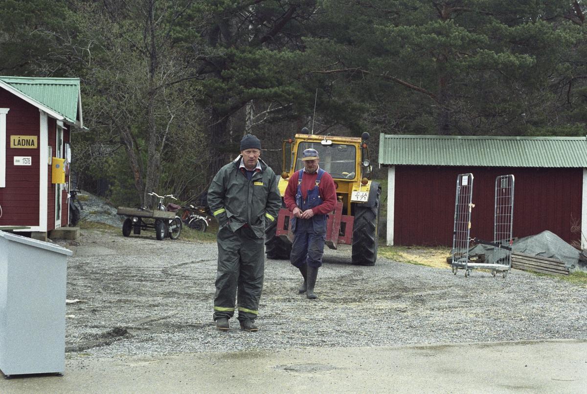 Skärgårdsprojektet 2003-2004 Fotodatum 6-9 maj 2003 Lådna brygga