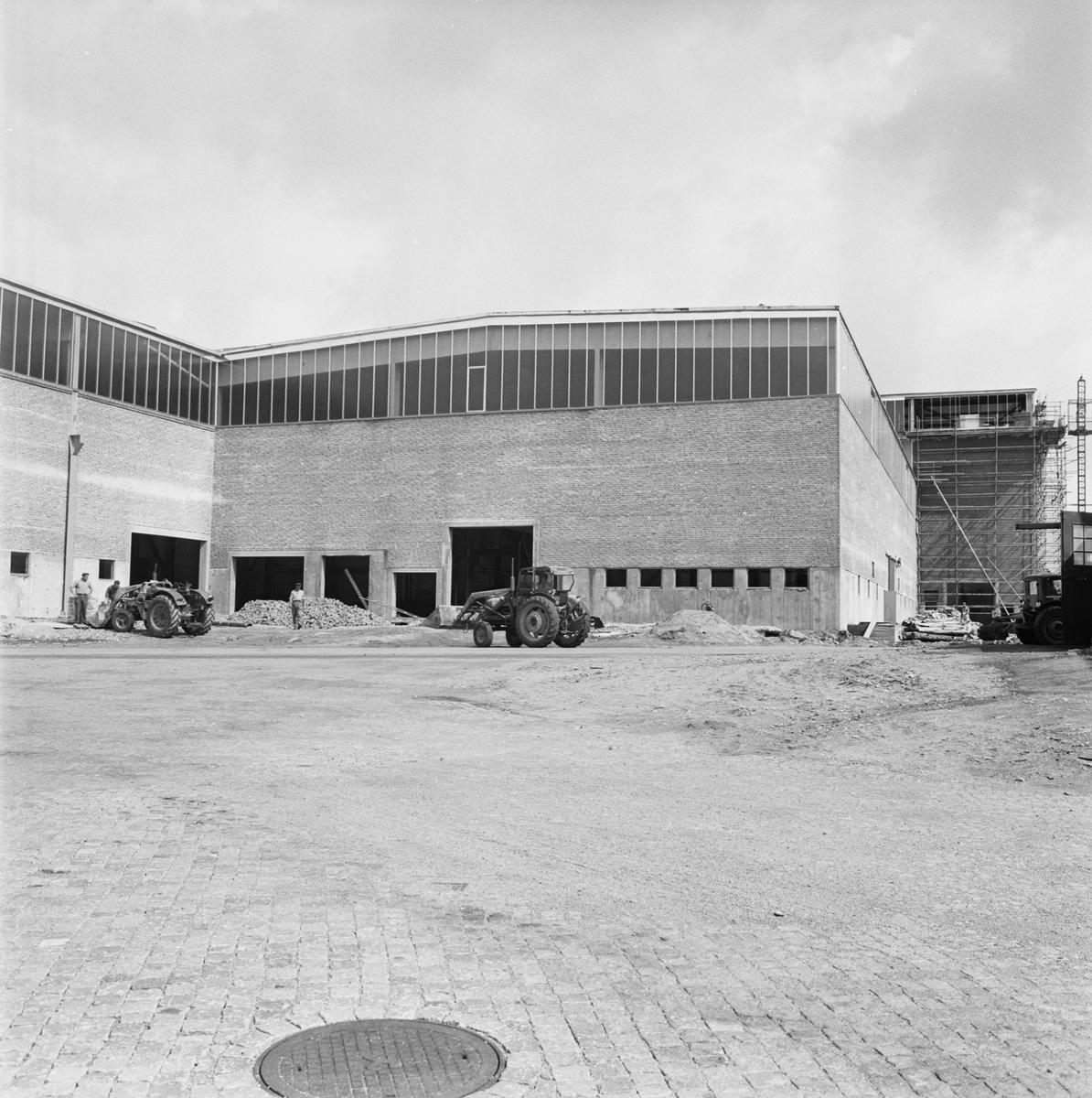 Övrigt: Fotodatum 19/8 1963 Byggnader och Kranar Nyb. området. ext