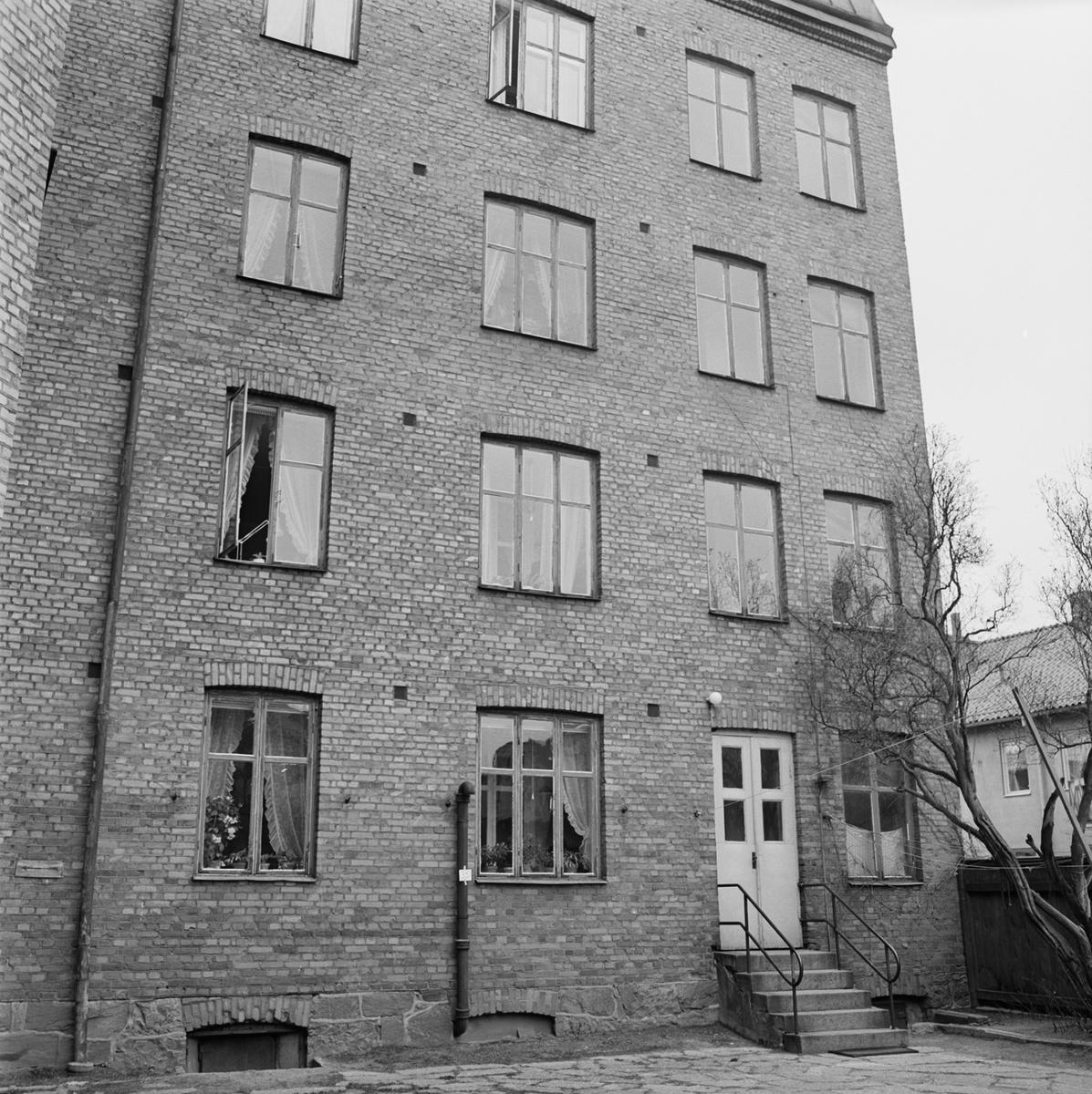 Övrigt: Fotodatum 21/4 1965 Byggnader och Kranar Kvarteret Pollux