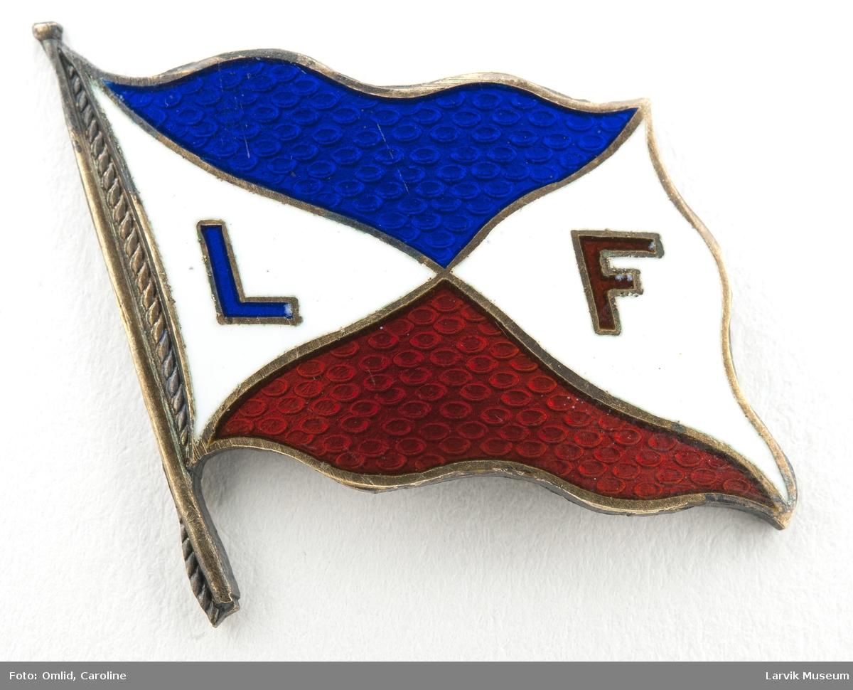 Rederiflagg med LF