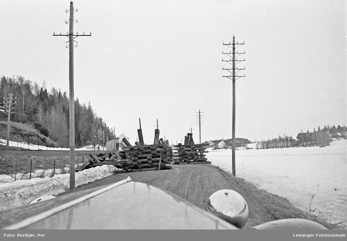 Veisperring langs E50 ved Mule I