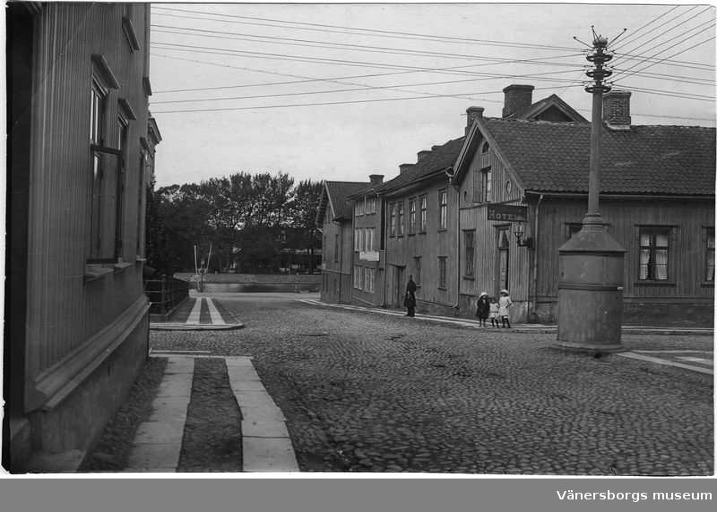 Sundsgatans västra del,  Sundsgatan  Vänersborg
