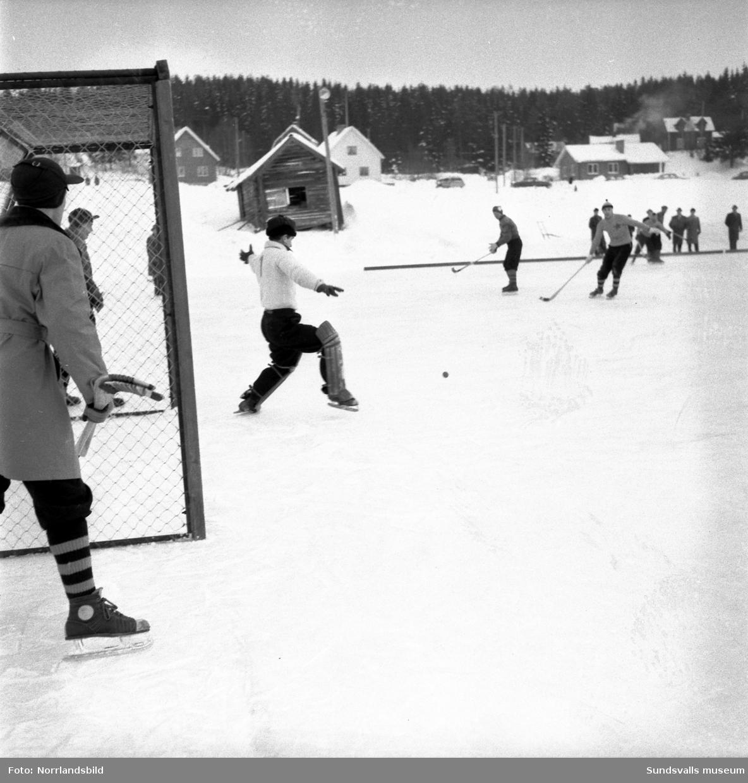 Bandymatch, Heffners-Hudiksvall.