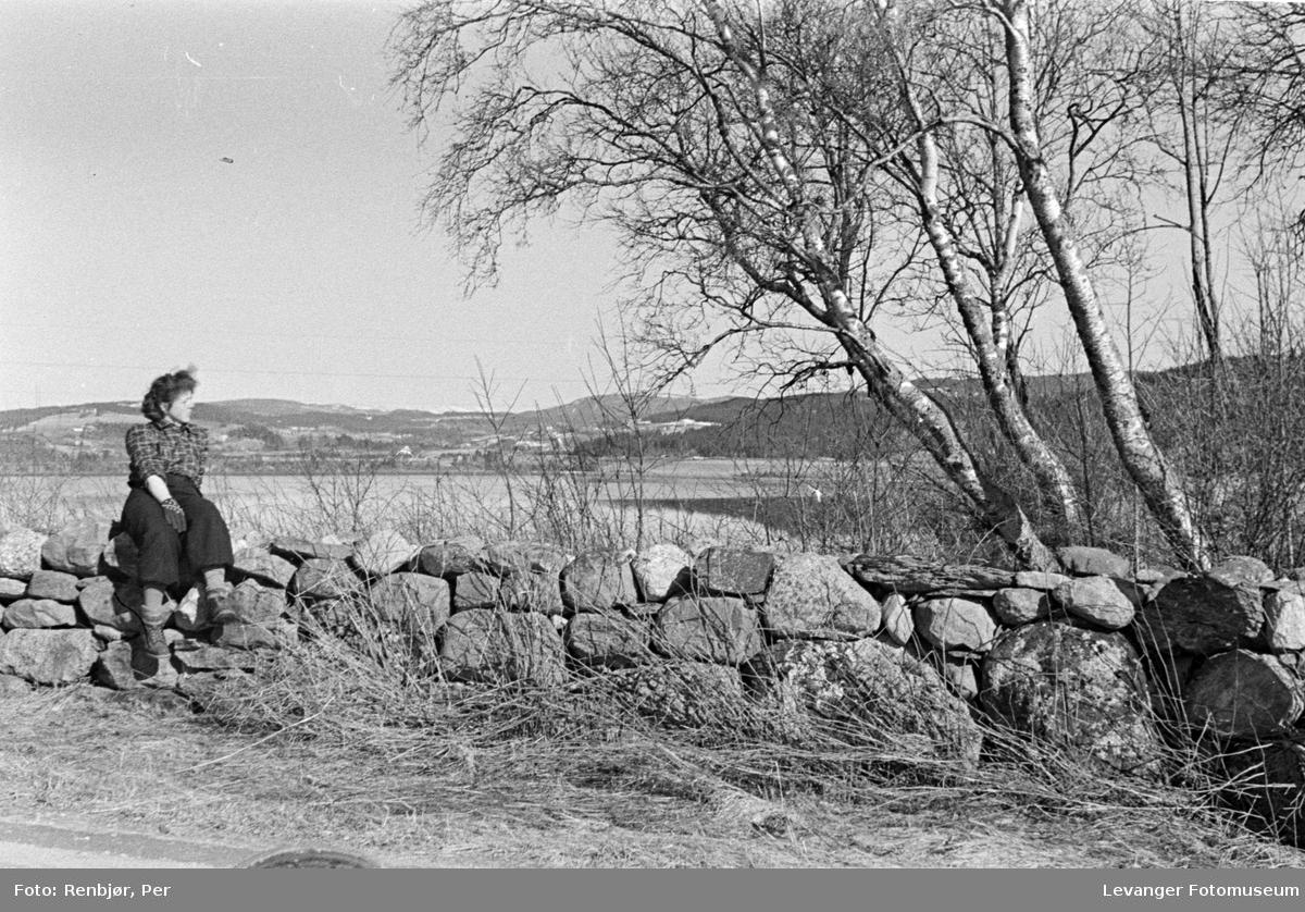 Sivile flykter ut på landet i aprildagene 1940