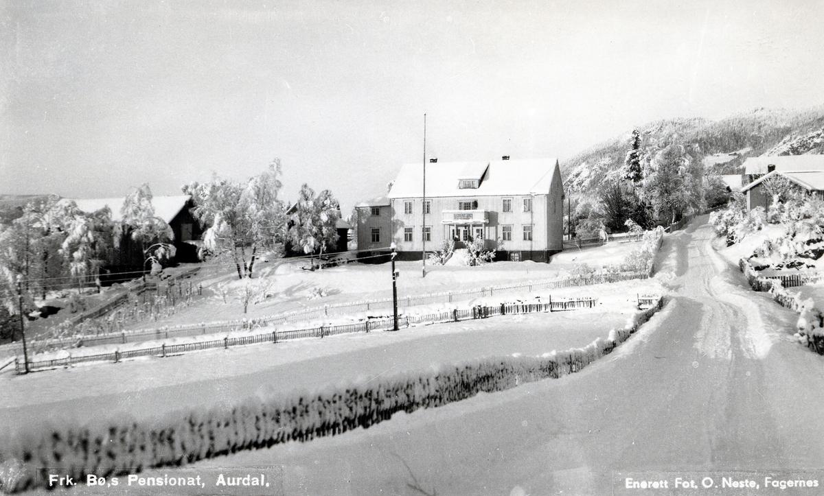 Magnhild Bøs pensjonat i Aurdal