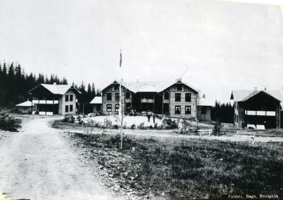 Bygningar på Breidablikk sanatorium