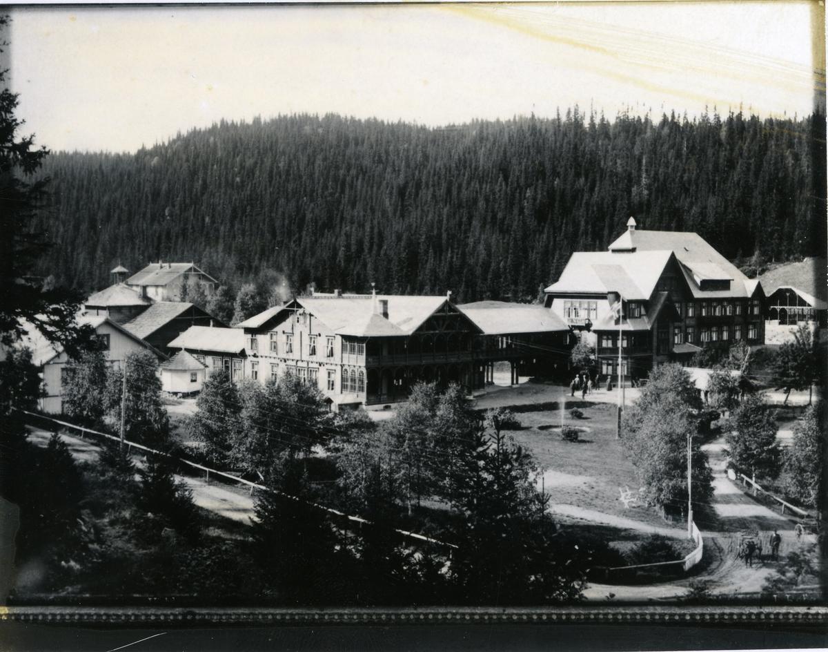Tonsåsen sanatorium før brannen den 5.mai 1926