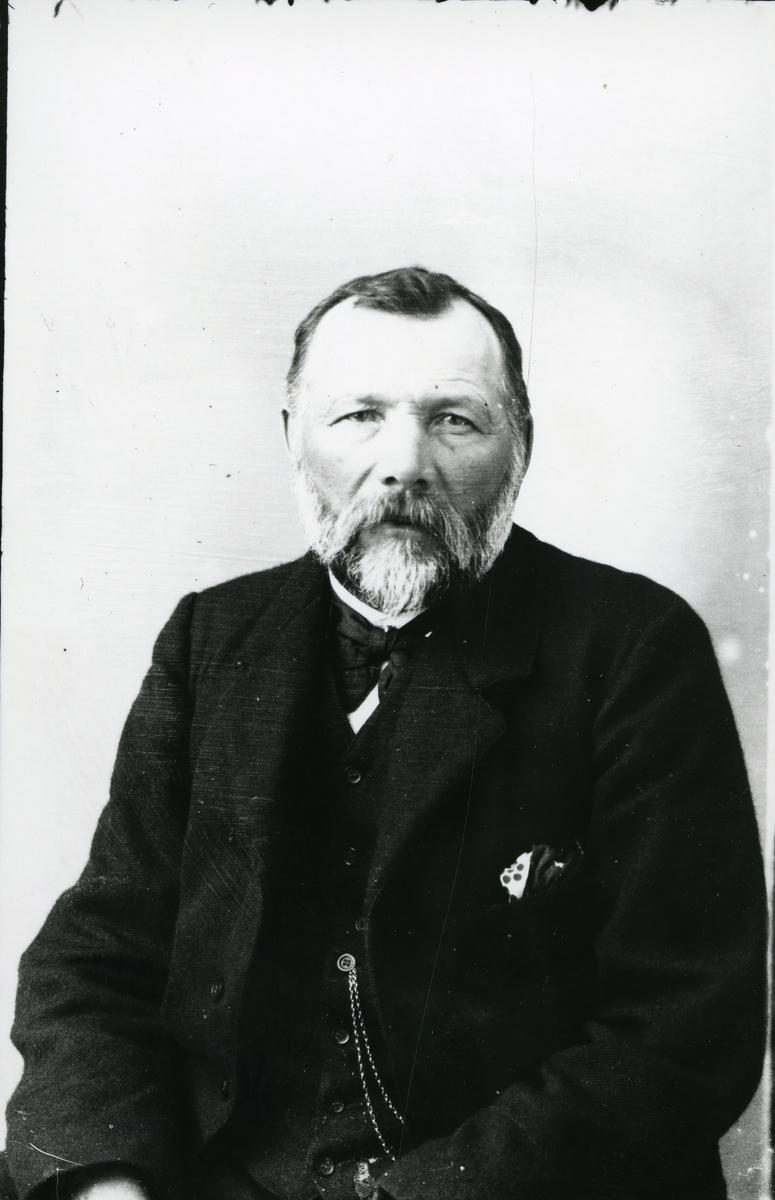 Portrett av emissær Arne Nes, Fagernes