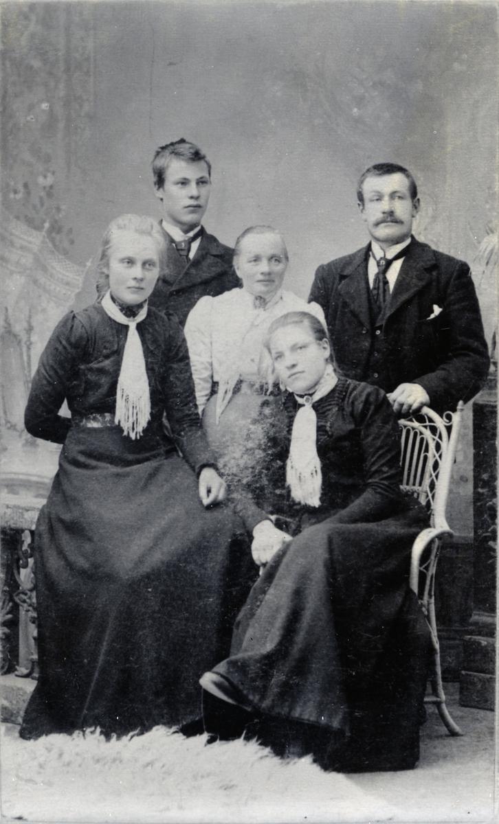Gruppebilde fra ca 1908.