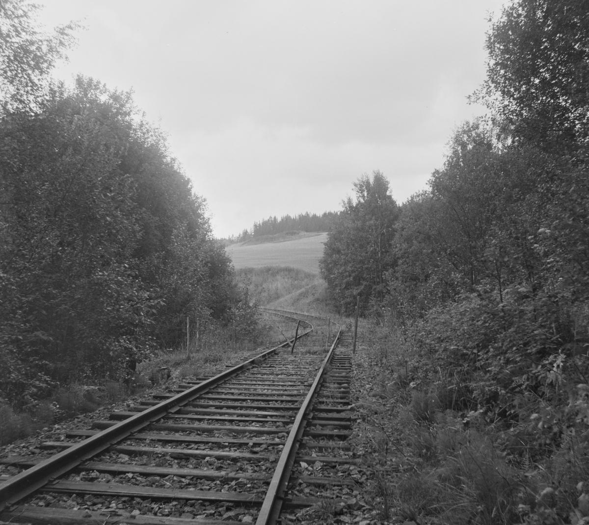 Langs den nedlagte Solbergfossbanen