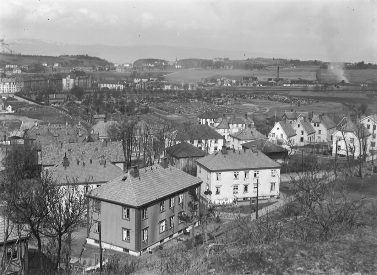 Oversiktsbilde området Bakkaunet / Strindheim - Lade