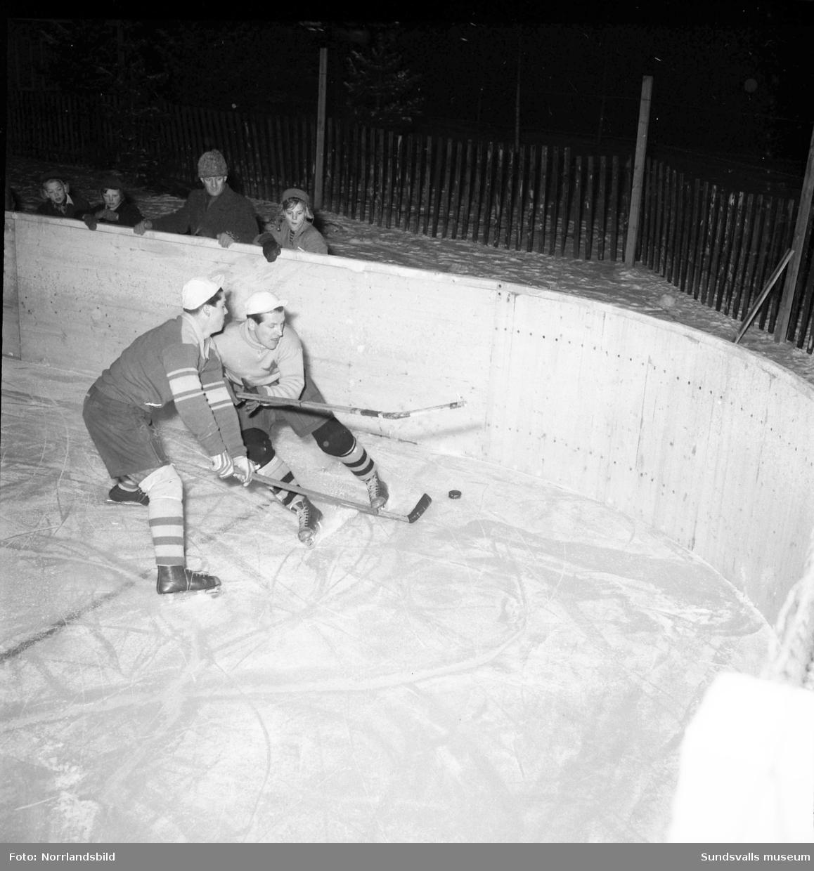 Ishockeypremiär för Heffner som tar en storseger med 22-0.