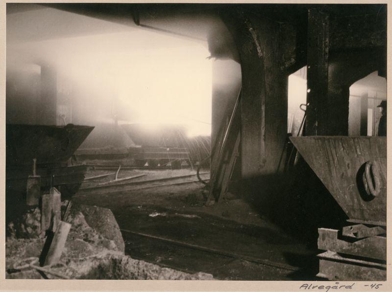 Wargöns AB.  Smältverket, 1945.