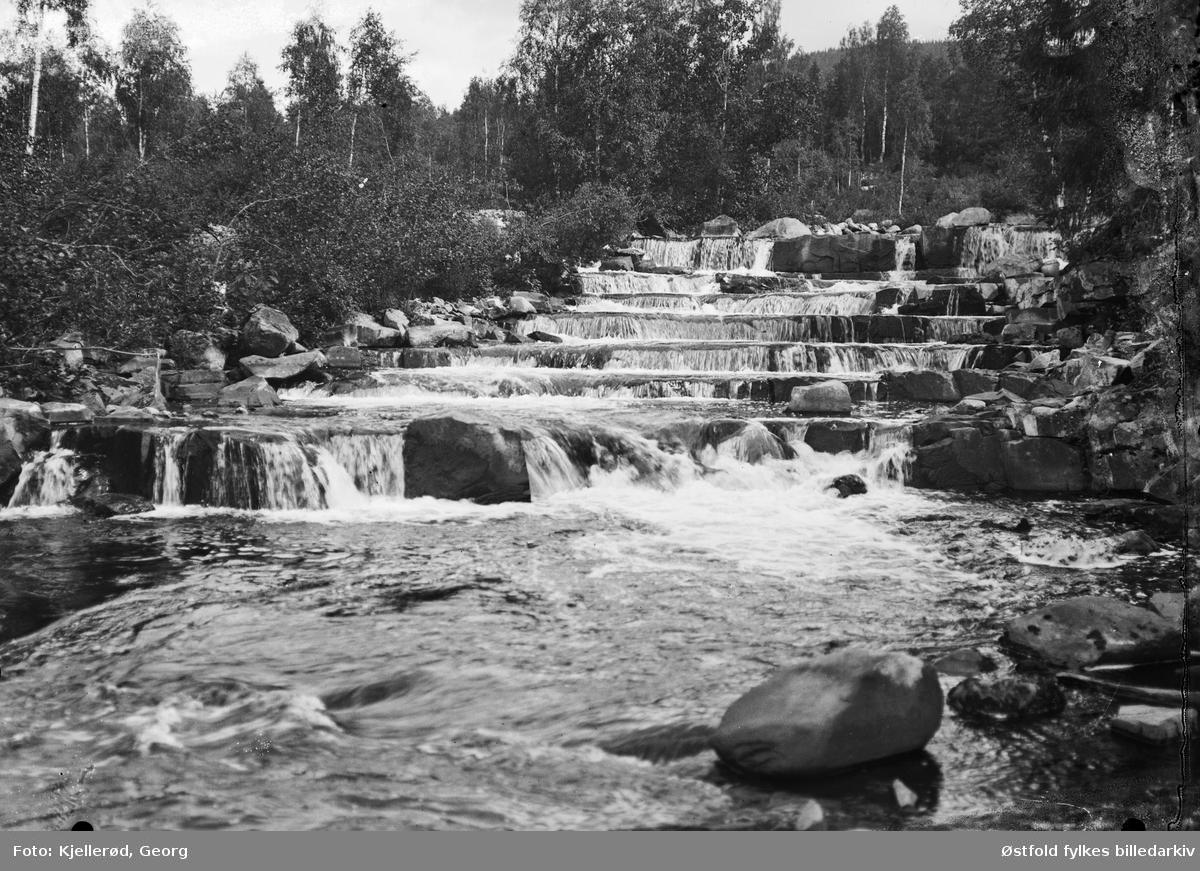 Mesnaelva i Lillehammer 1910