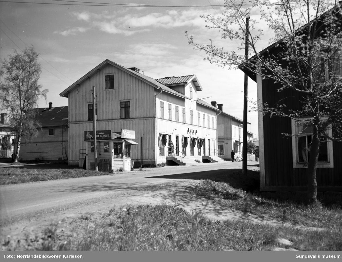 Konsumbutik på Ortviksvägen 7.
