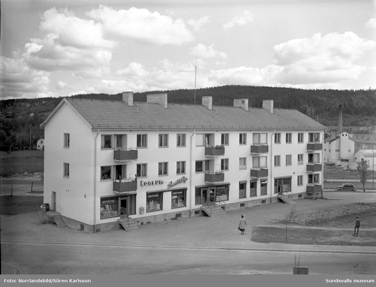 Konsumbutik i Vinkeltået.