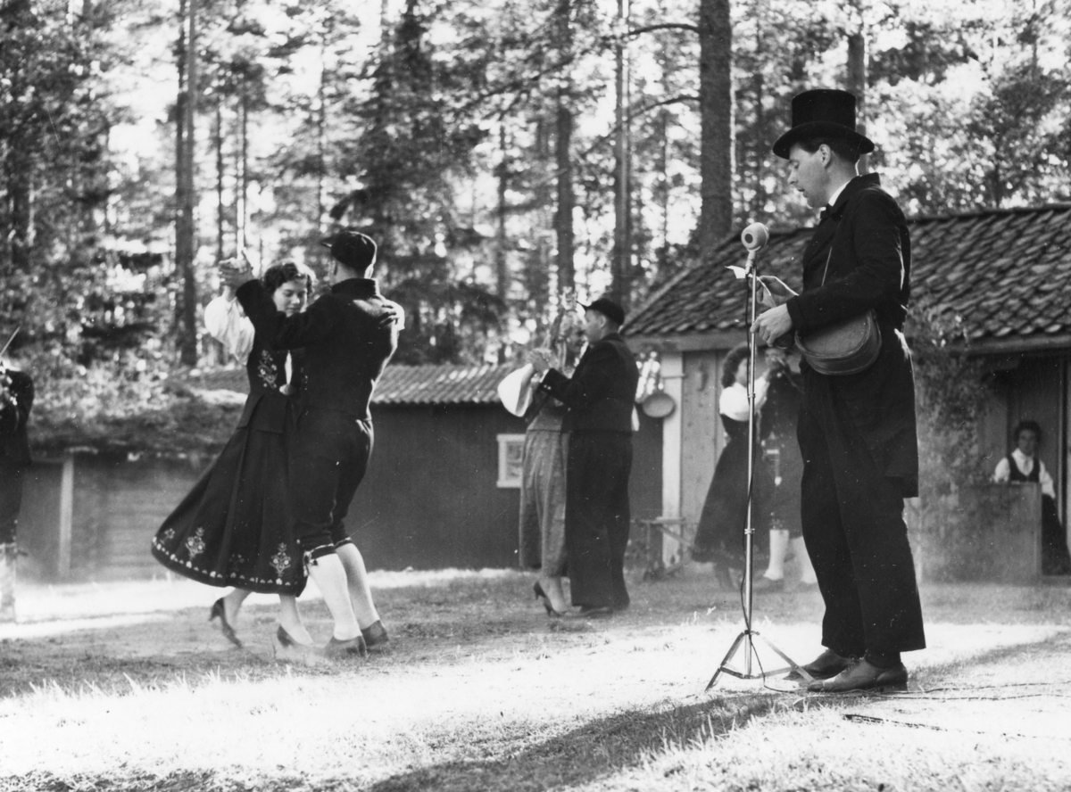 Utflytterdagen 1959. Bjarnes trio