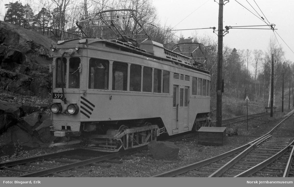 Ekebergbanens arbeidsvogn nr. 399