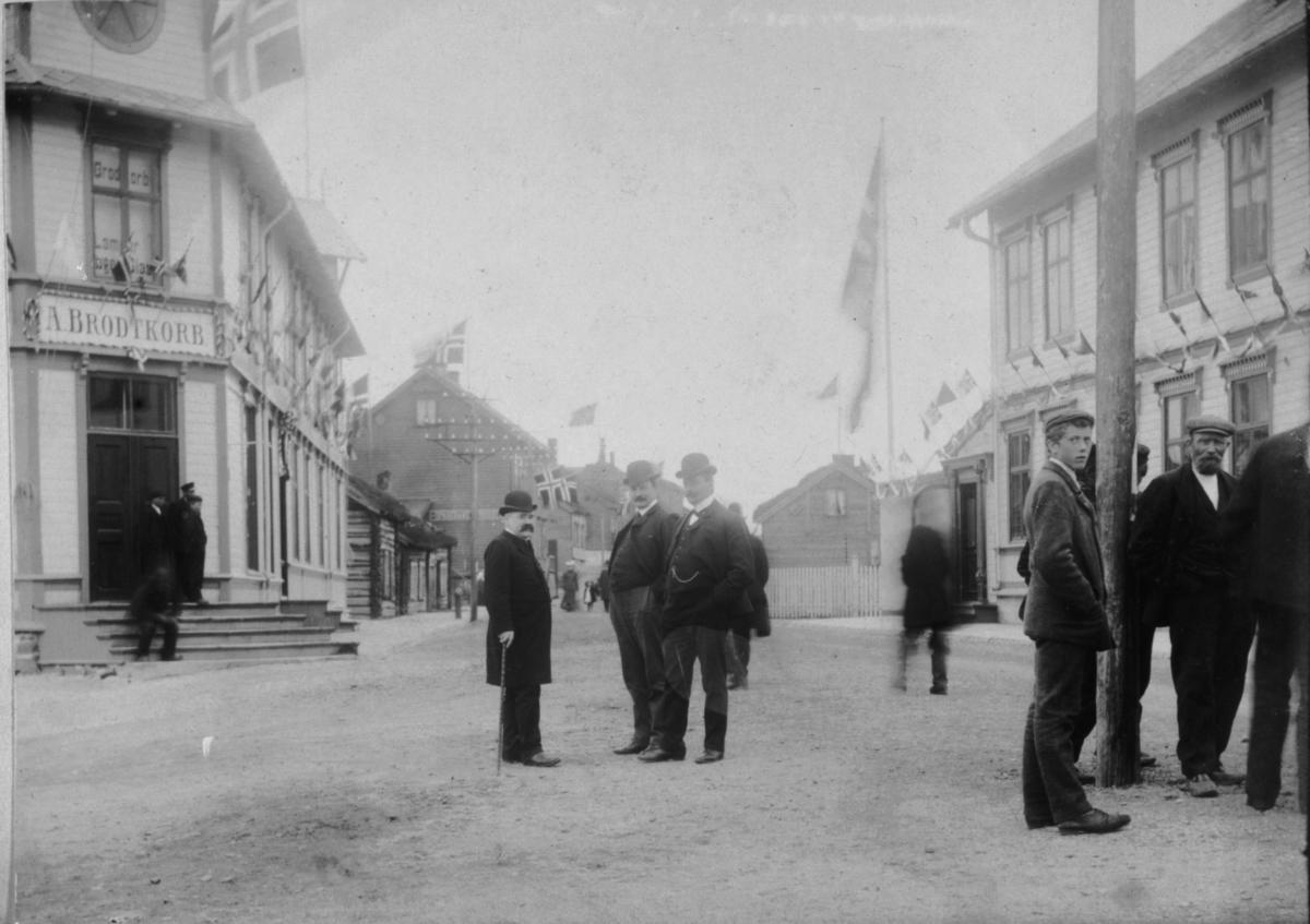 Kongebesøk 26. juli 1907.