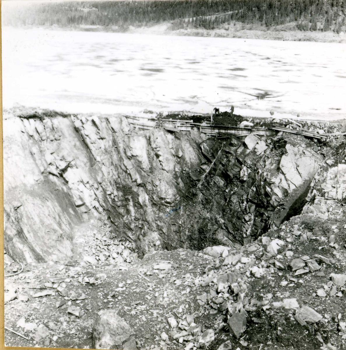 Inntak og dam. Våmar vatn + Kåsvatn  (17)
