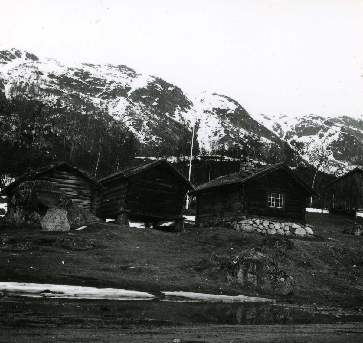 Kraftområdet. Fellesanlegg. (24) April 63
