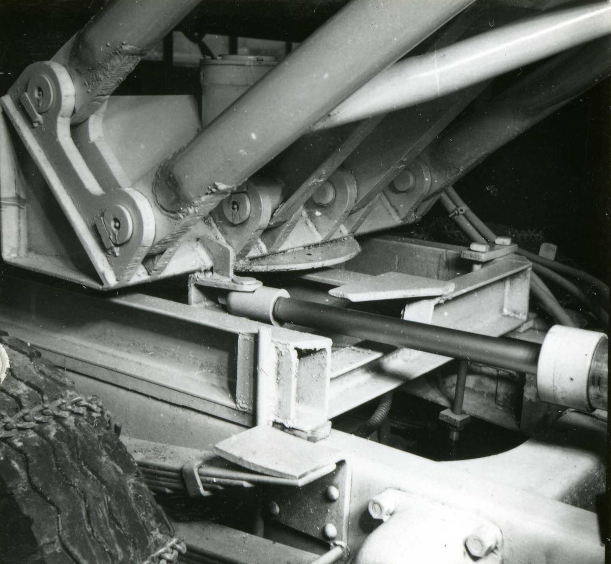 Dalen-lageret 9, maskiner