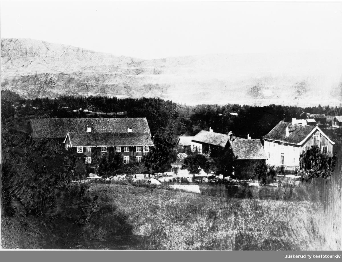 Klekken gård i Haugsbygd før brannen i 1940