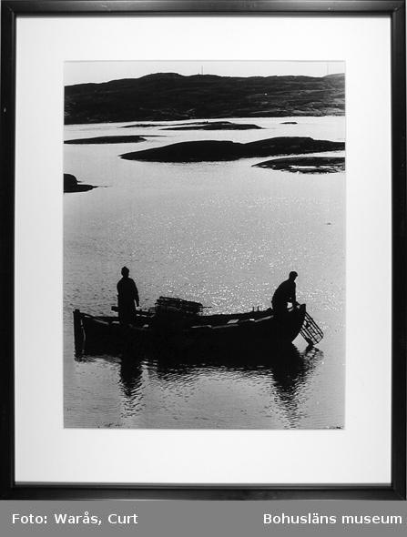 Hummerfiskare vid Gullholmen i september 1969