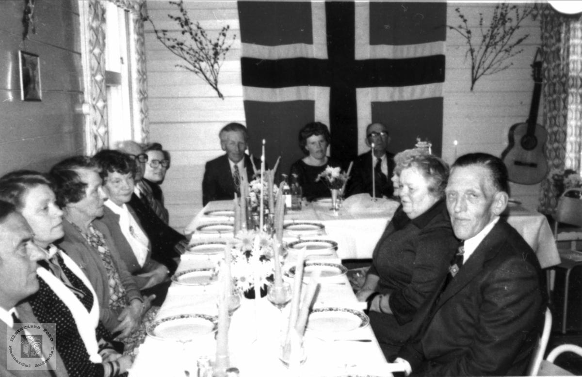 75- årsfeiring for Lars Lie