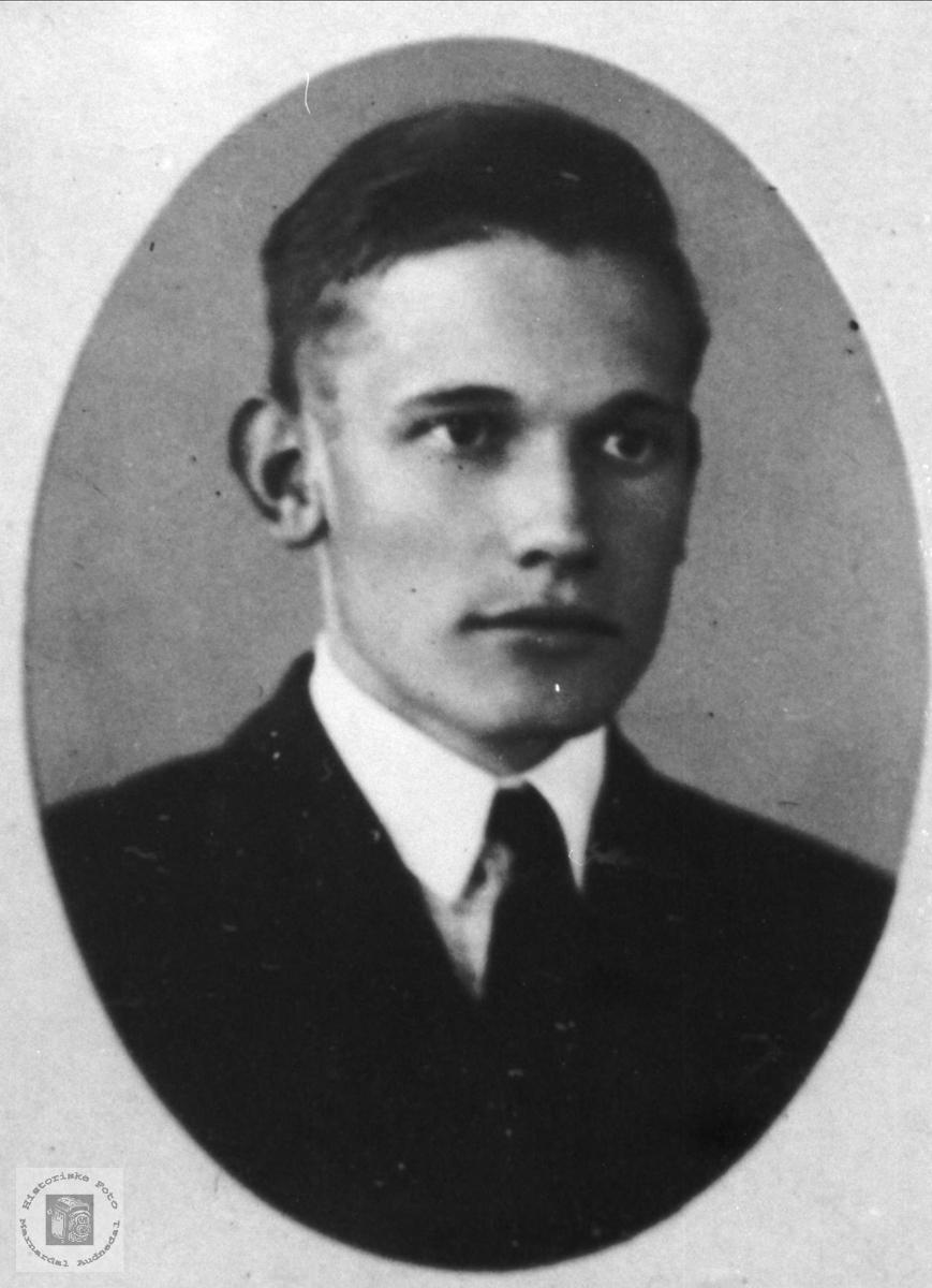 Portrett. Georg Nome.