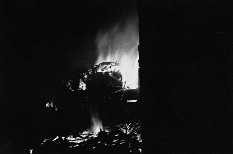 Tureborg brinner