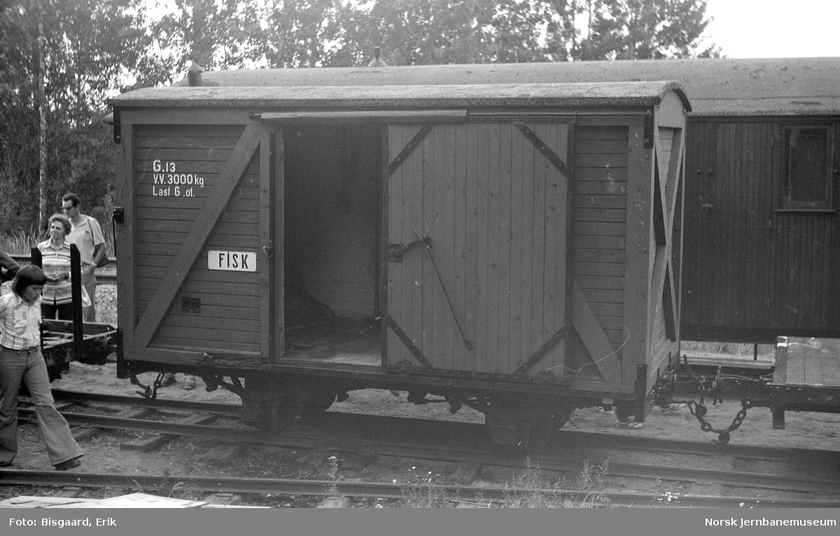 Urskog-Hølandsbanens godsvogn litra G nr. 13
