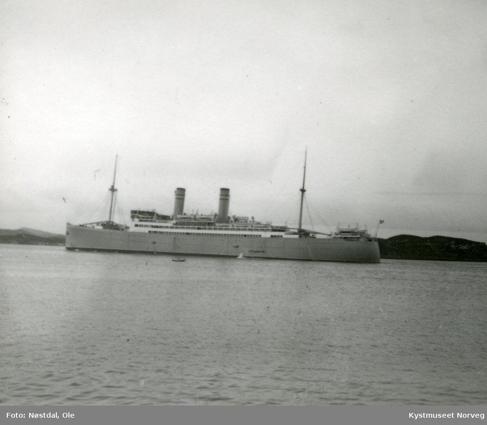 """Cruiseskipet? """"Stavangerfjord"""""""