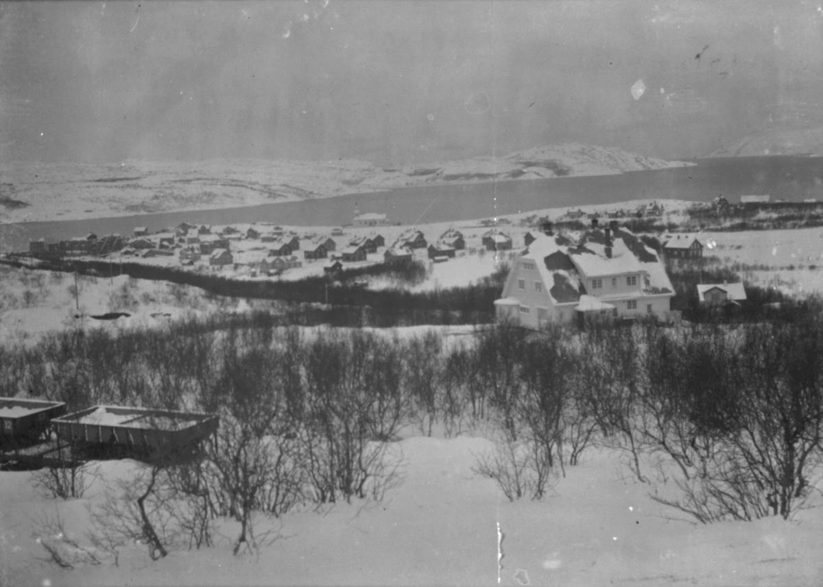 Fra bak Messa, mot Kirkenes. November 1908.