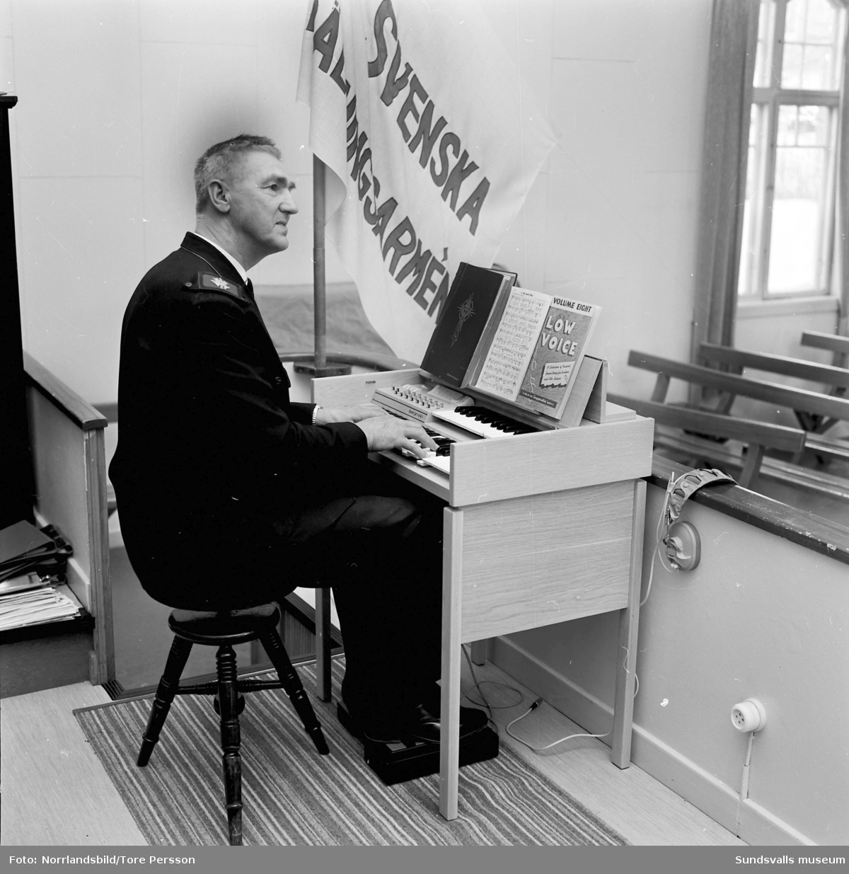 Frälsningsarméns nya orgel.