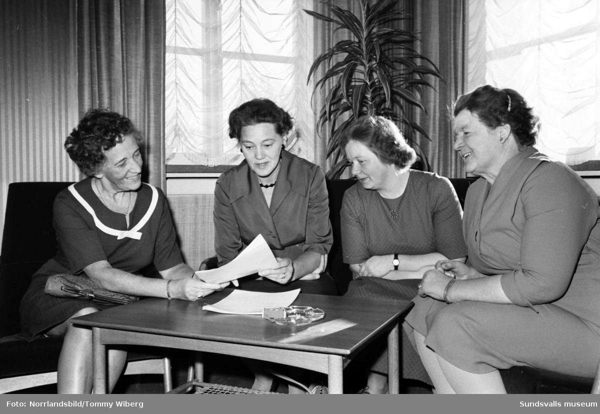 Medelpads socialdemokratiska kvinnodistrikt har upptaktsmöte.
