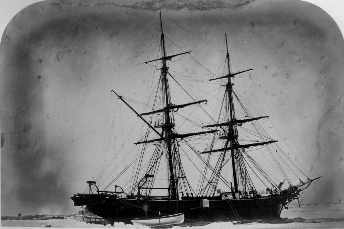 """Gladan d.21 Juni 1873 Axel Enwall"""