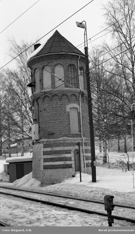 Vanntårnet på Lillehammer stasjon
