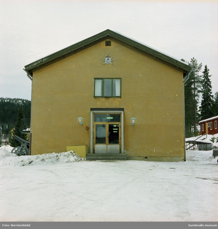 Exteriörbilder av byggnaderna på LV5.