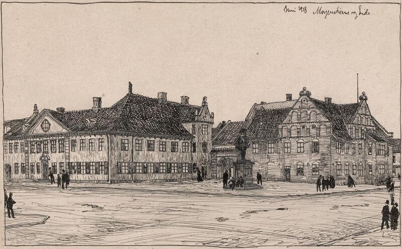 Collettgården på Christianiatorg (Foto/Photo)