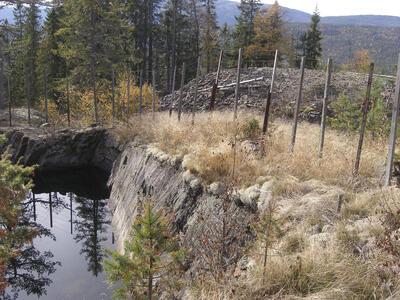 Helgevannsgruvene. Foto/Photo