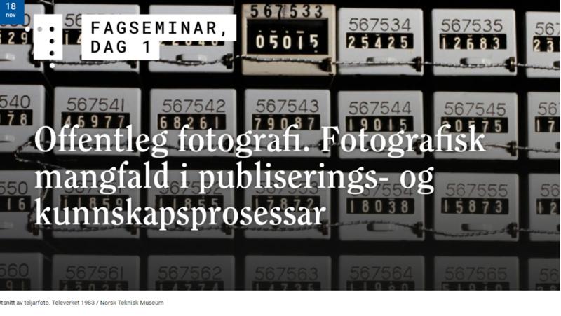 Ill. Offentleg fotografi. webinar på NB 2020 (Foto/Photo)
