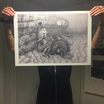 Gicleetrykk kr 2000, arkstørrelse 60x42cm, opplag: 20 (Foto/Photo)