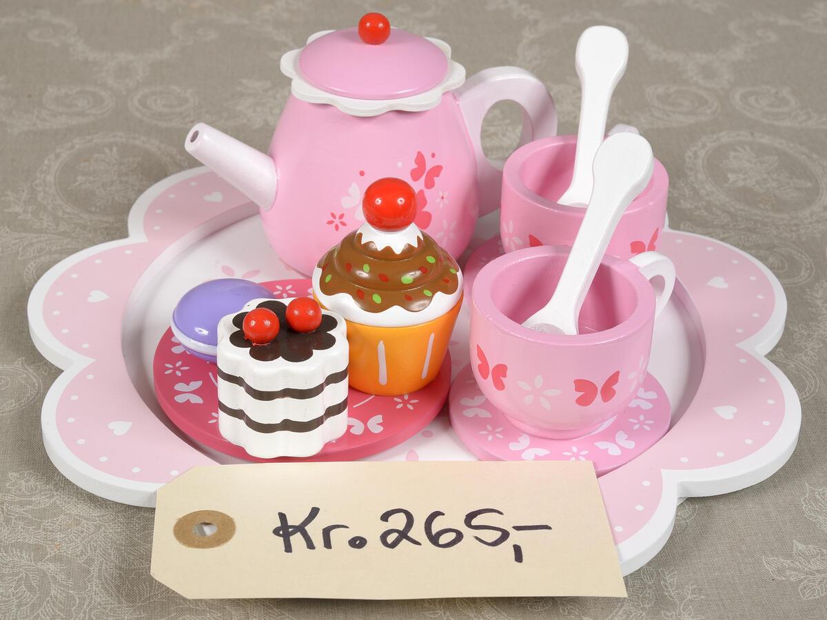 Rosa servise kr. 265,- (Foto/Photo)