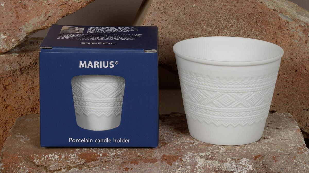 Marius lyslykt (8,5 dia x høyde 7 cm) kr. 139,- (Foto/Photo)