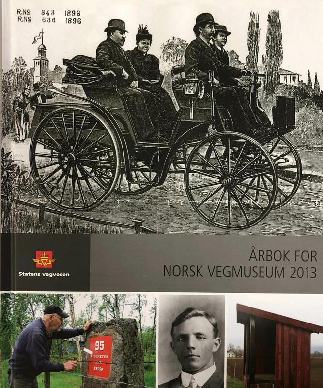 Forside: Årbok for Norsk vegmuseum 2013 (Foto/Photo)