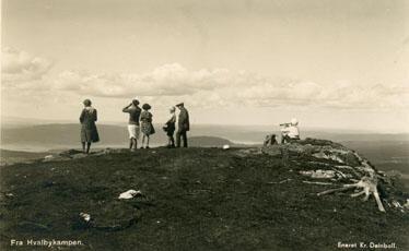 Fra Rånåsen, Gran. Foto: K. Deinboll/Randsfjordmuseet. (Foto/Photo)