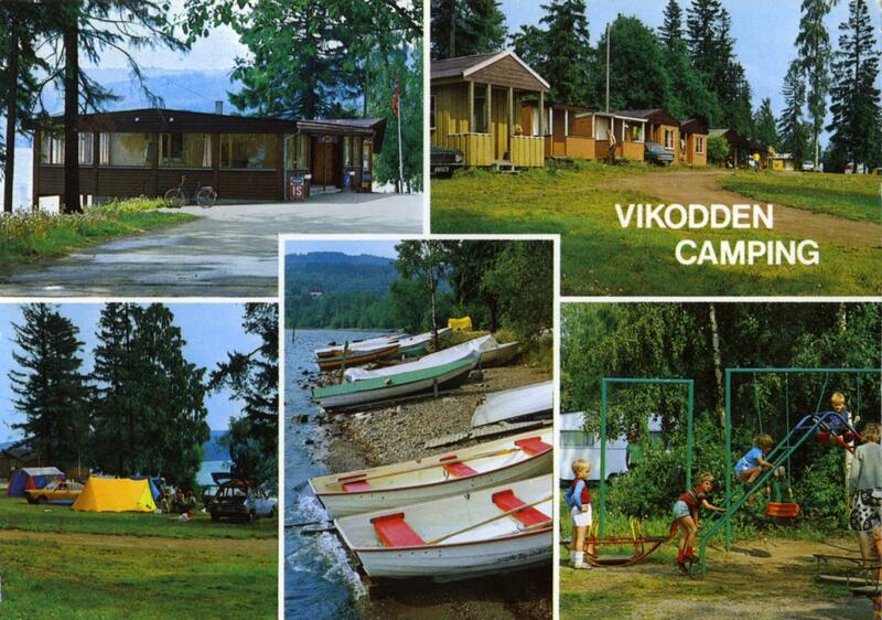 Vikodden camping, Gjøvik. Foto: Knut Aune Kunstforlag/Mjøsmuseet. (Foto/Photo)